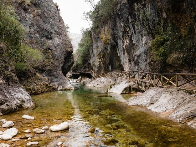 Vista aérea da cachoeira