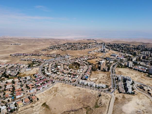 Vista aérea da cidade durante o dia