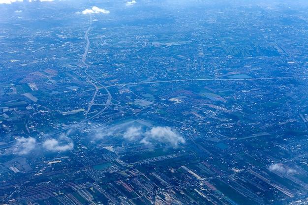 Vista aérea da cidade