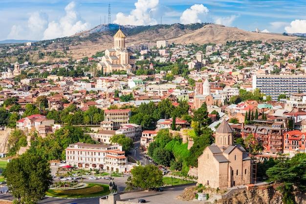 Vista aérea de tbilisi
