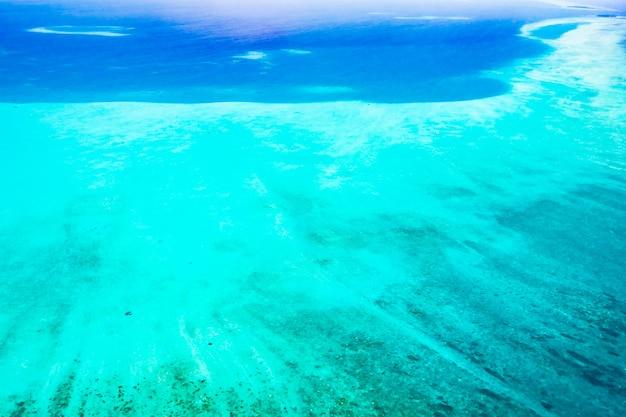 Vista aérea do console maldives