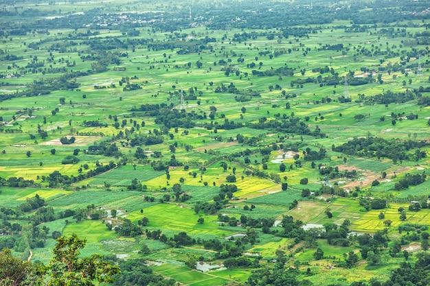 Vista aérea do marco público da paisagem