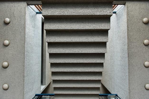Vista alta ângulo, de, um, escadaria, centro cultural, estaci, mapocho, santiago, santiago, metropolitano, re