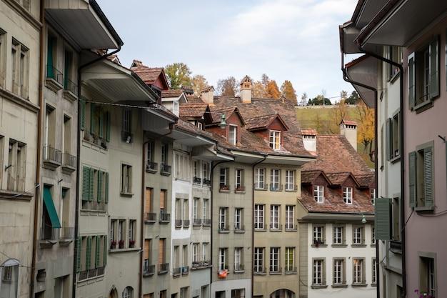 Vista da arquitetura de berna