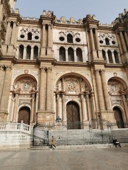 Vista da catedral em época de pandemia