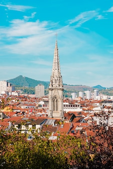Vista da cidade de bilbao, espanha
