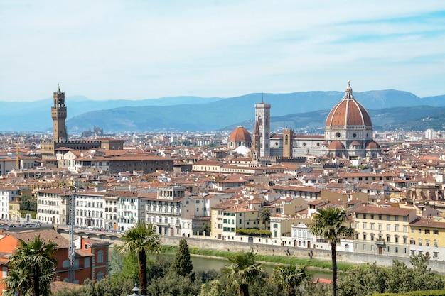 Vista da cidade de firenze, itália