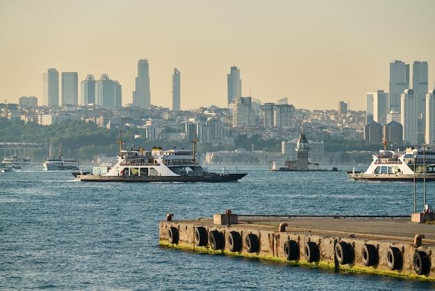 Vista da cidade de istambul da turquia