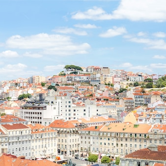 Vista da cidade de lisboa portugal