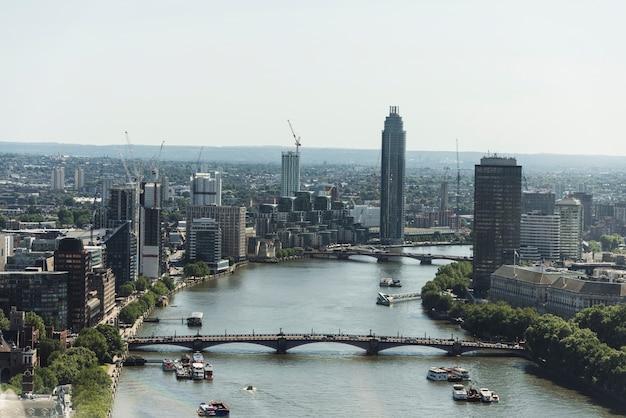 Vista da cidade de londres
