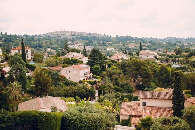 Vista da cidade de nice, frança
