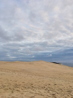 Vista da duna de pyla, mais alta da europa frança