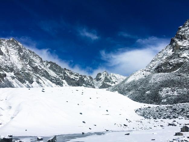 Vista da geleira de arbuz