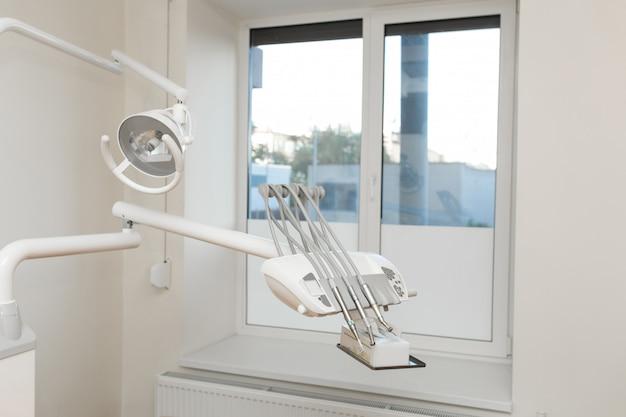 Vista da moderna cirurgia dentária vazia