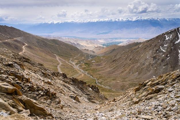 Vista da montanha alta