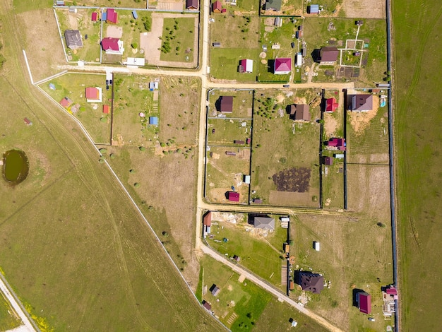 Vista da vila acima