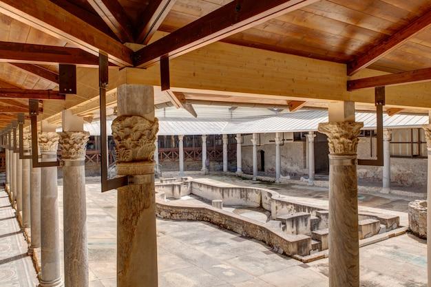 Vista da villa romana del casale, piazza armerina