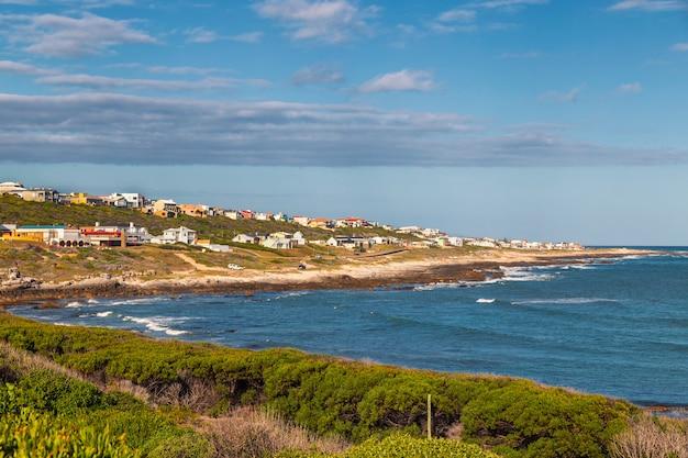 Vista das agulhas - cidade mais austral da áfrica