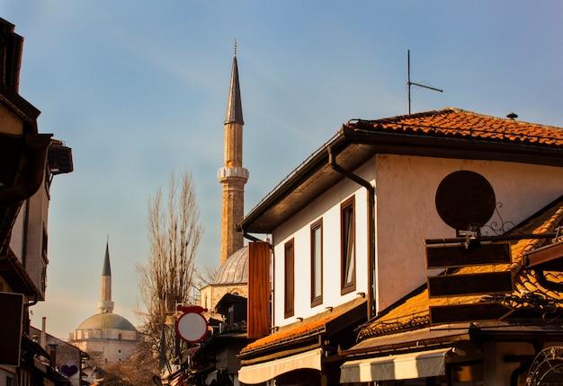 Vista das mesquitas de sarajevo