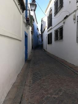 Vista das ruas de córdoba