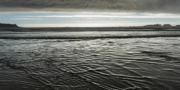 Vista, de, a, oceânicos, de, a, praia, cox, baía, parque nacional beira pacífico, reserva, tofino, vancouver, isla