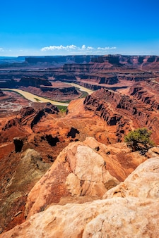 Vista de dead horse point, eua