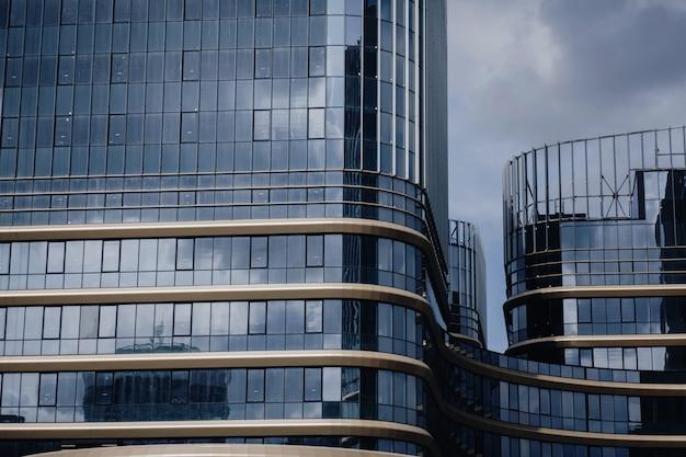 Vista de detalhe da cidade moderna