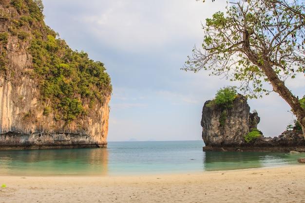 Vista, de, koh, hong, ilha, krabi, tailandia