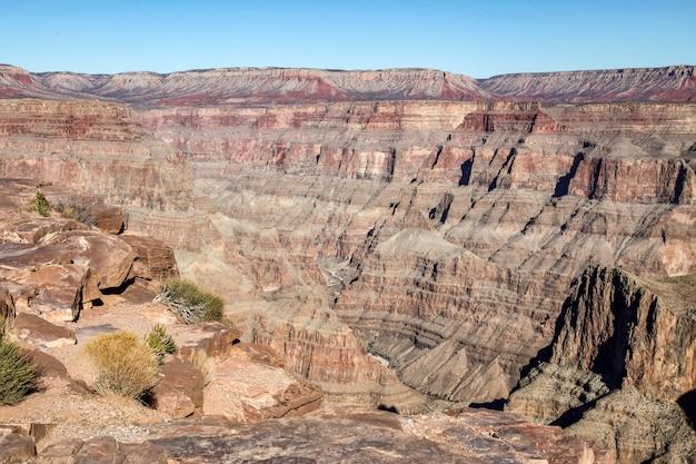 Vista, de, paisagem, em, desfiladeiro grandioso parque nacional, em, eua