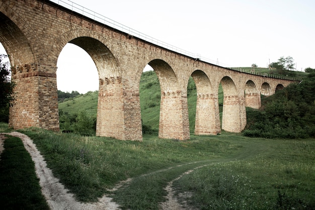 Vista de ponte de baixo ângulo