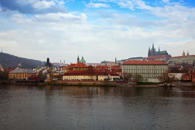 Vista de praga, república tcheca