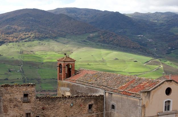 Vista, de, sperlinga, sicília