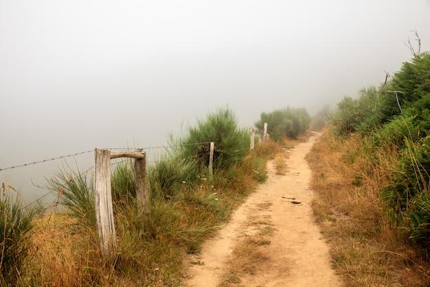 Vista do caminho da galiza