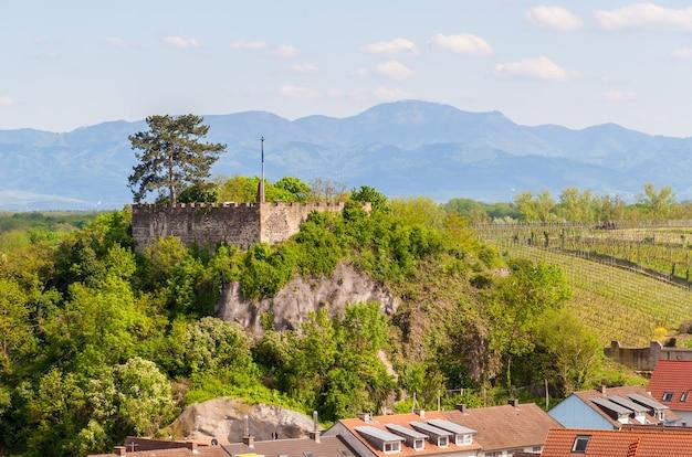 Vista do castelo breisach