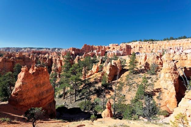 Vista do famoso bryce canyon, utah, eua