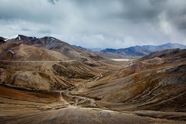 Vista do himalaia