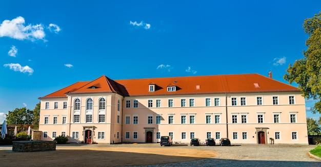 Vista do museu sorábio em bautzen, saxônia, alemanha