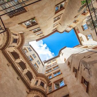 Vista famosa na cidade de lyon, frança Foto Premium
