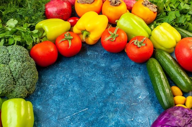 Vista frontal vegetal