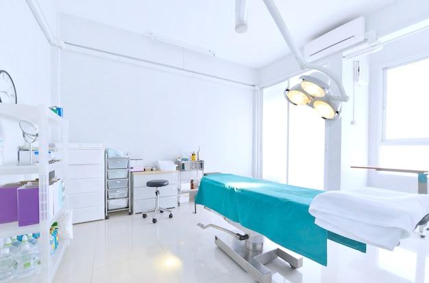 Vista interior, de, quarto operacional