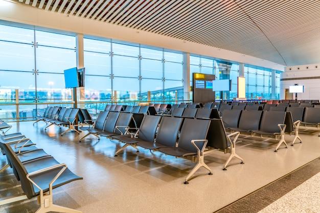 Vista interior do terminal