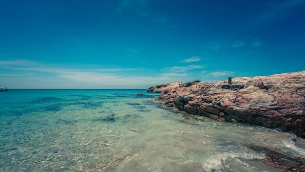 Vista mar tropical