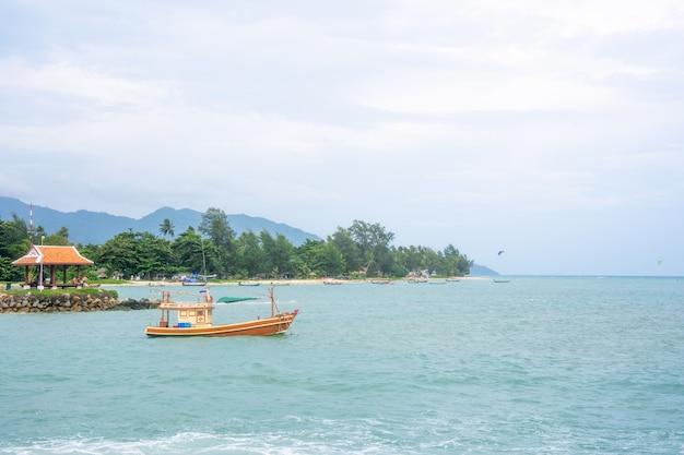 Vista natural de marinhas