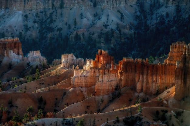 Vista no parque nacional bryce