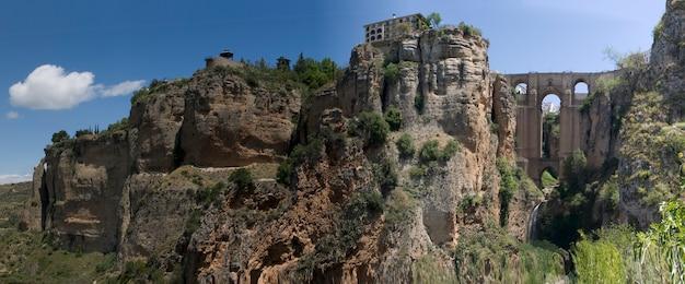 Vista panorâmica da cidade de ronda na espanha