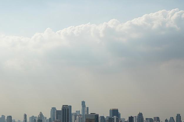 Vista panorâmica da moderna cidade de bangkok