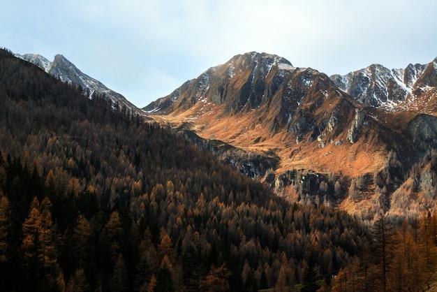 Vista panorâmica das montanhas