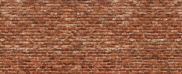 Vista panorâmica de alvenaria, parede de tijolos como pano de fundo
