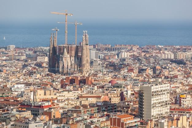 Vista panorâmica de barcelona