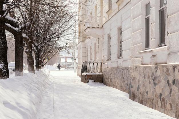 Vista panorâmica do fundo da cidade